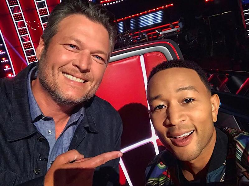 Blake Shelton and John Legend | John Legend/Instagram