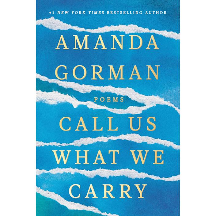 Amanda Gorman poetry book, gifts for her