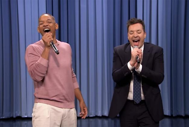 Will Smith Relives His Life Story Through Rap With Jimmy Fallon