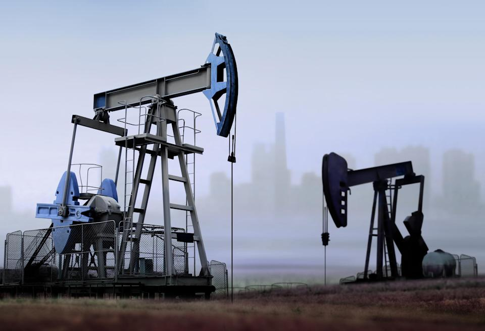 Oil has nowhere to go. (Getty)