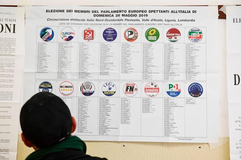 Partiti candidati (MIGUEL MEDINA/AFP/Getty Images)