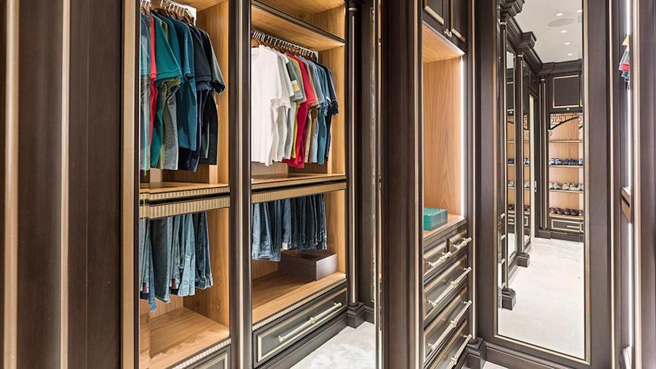 The owner added generous closets and dressing rooms. - Credit: Photo: Anthony Barcelo/Compass