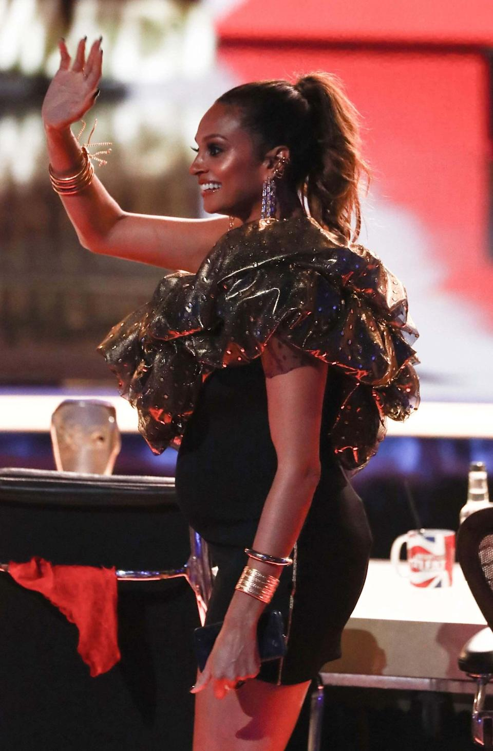 Alesha Dixon pregnant: Britain's Got Talent hosts Ant and Dec reveal baby news live on show as fans hail 'best intro ever'