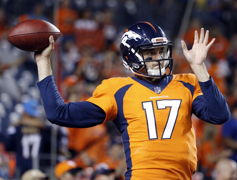 Brock Osweiler comes in for Broncos at QB  for cheap