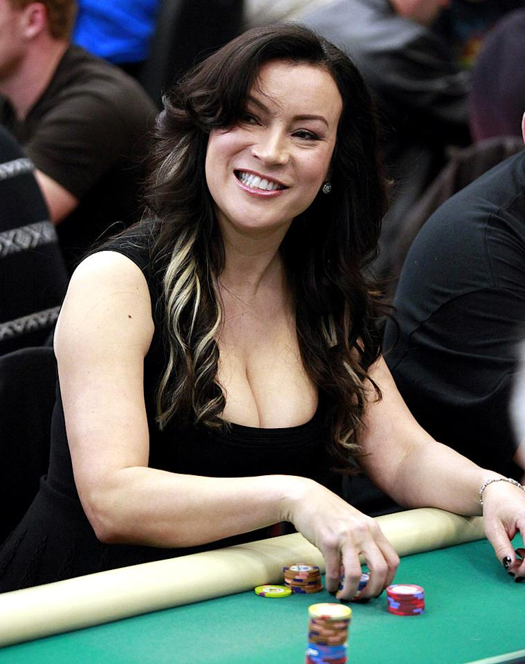 """Jennifer Tilly -- who found fame on """"Hill Street Blues"""" and later in Woody Allen's """"Bullets Over Broadway"""" -- has traded in sound stages for casinos in recent years as she's quickly become one of the best female poker players in the world. Jean Baptiste Lacroix/<a href=""""http://www.wireimage.com"""" target=""""new"""">WireImage.com</a> - February 20, 2010"""