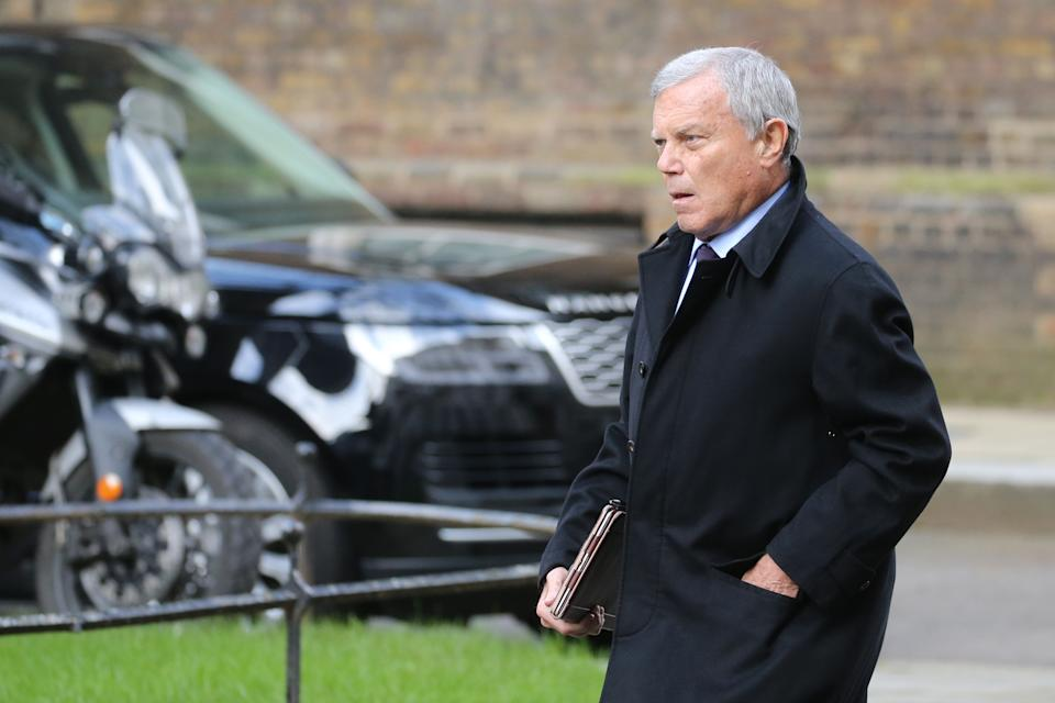 "British businessman Martin Sorrell's ad agency said it ""continued to hire aggressively around strong gross profit growth and significant new business wins."" Photo: Isabel Infantes / AFP"