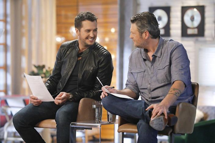 Luke Bryan and Blake SheltonThe Voice - Season 12