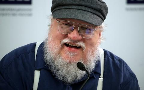 <span>George RR Martin, who likely doesn't understand deadlines</span> <span>Credit: Alexander Demianchuk/TASS via Getty Images </span>