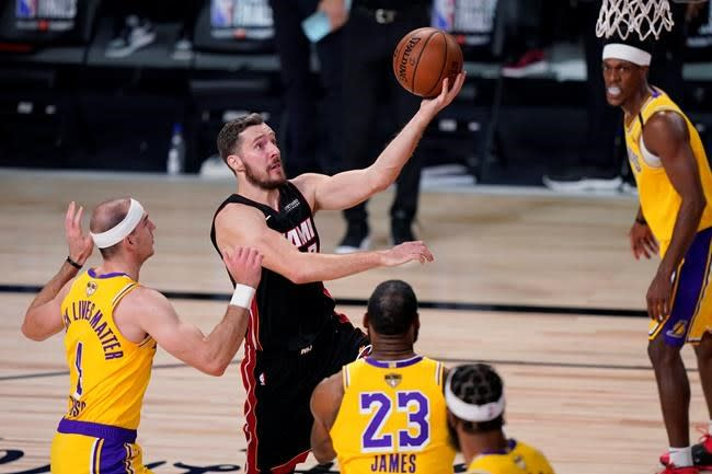 Heat rule Dragic, Adebayo out of Game 3 of NBA Finals