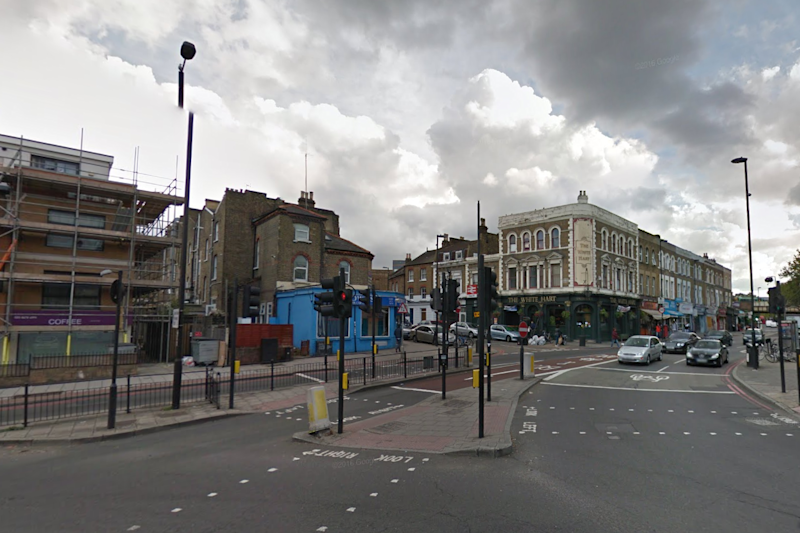 Double stabbing: Police raced to the scene of the incident on Good Friday afternoon: Google