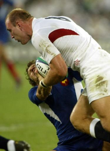 Fabien Galthie got a taste of English brutality when he tackled Lawrence Dallaglio in the 2003 World Cup semi-final
