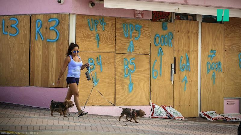 Floridians Brace For Hurricane Irma's Arrival