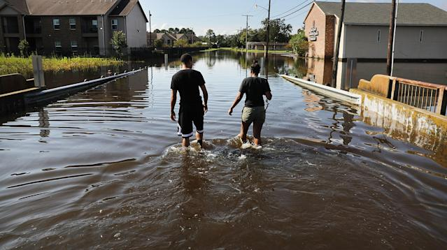A Houston woman died earlier this month from a flesh-eating bacteria after falling into contaminated Harvey floodwaters.