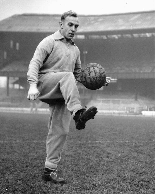 One to remember: Billy Wright was the first man in the world to win 100 international caps for any national side