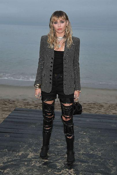 PHOTO: Miley Cyrus attends the Saint Laurent Mens Spring Summer 20 Show on June 06, 2019, in Malibu, Calif. (Neilson Barnard/Getty Images, FILE)