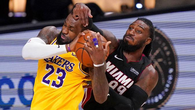 Jadwal Gim Keenam Final NBA Miami Heat Vs LA Lakers, Senin 12 Oktober 2020