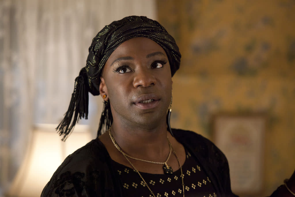 "Nelsan Ellis in the ""True Blood"" episode, ""Everybody Wants to Rule the World."""