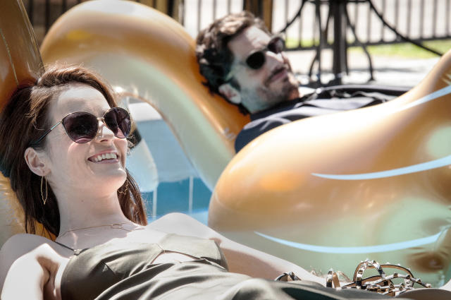 Michelle Dockery and Juan Diego Botto in 'Good Behavior' (Photo: Brownie Harris/TNT)