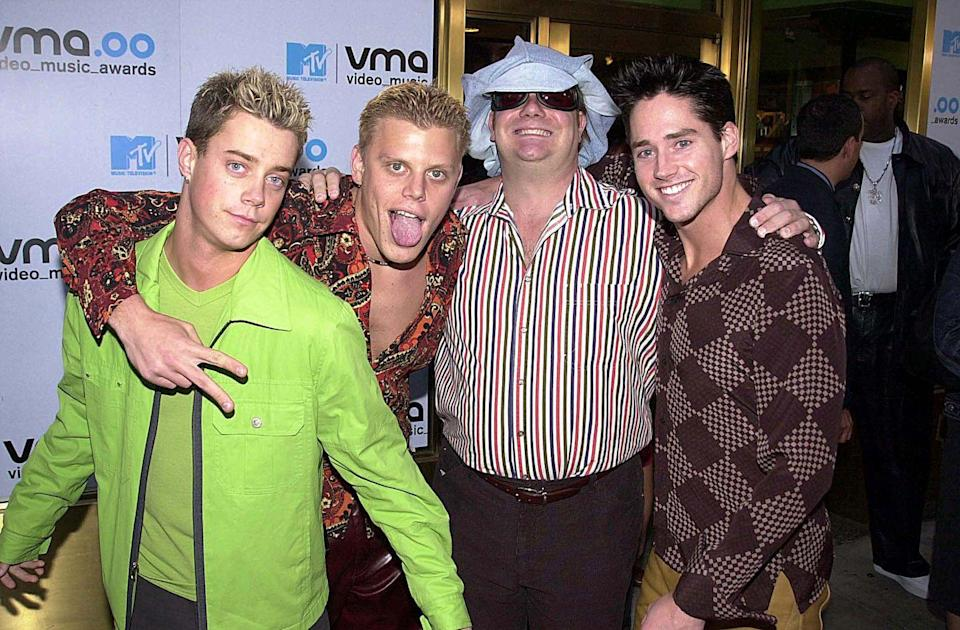 """<p>Okay, so this one shouldn't count, since 2gether was sort of created as a joke created for a short-lived MTV show that satirized the entire nature of the boy band machine. Nevertheless, their single """"The Hardest Part of Breaking Up (Is Getting Back Your Stuff)"""" was relentlessly catchy <em>and</em> funny, and even made its way onto the Billboard Hot 100 chart back when that was a feat. </p>"""