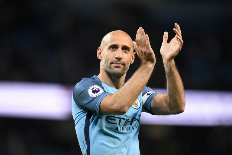 Former Man City defender Zabaleta retires