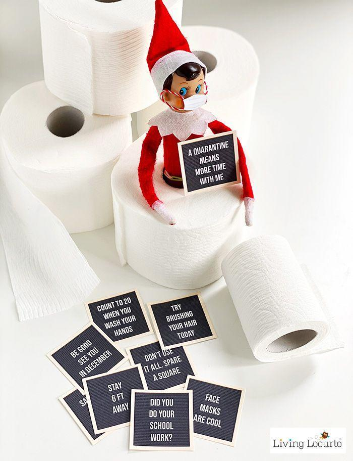 """<p>These cheeky letter board signs show that your elf is getting ready to hunker down at home—namely, <em>your</em> home!—for the winter season.</p><p><strong>Get the tutorial at <a href=""""https://www.livinglocurto.com/stuck-at-home-elf-letter-board/"""" rel=""""nofollow noopener"""" target=""""_blank"""" data-ylk=""""slk:Living Locurto"""" class=""""link rapid-noclick-resp"""">Living Locurto</a>.</strong></p><p><strong><a class=""""link rapid-noclick-resp"""" href=""""https://www.amazon.com/Elf-Shelf-Boy-Light/dp/B07TJJTBW8/?tag=syn-yahoo-20&ascsubtag=%5Bartid%7C2164.g.34080491%5Bsrc%7Cyahoo-us"""" rel=""""nofollow noopener"""" target=""""_blank"""" data-ylk=""""slk:SHOP ELF ON THE SHELF"""">SHOP ELF ON THE SHELF</a><br></strong></p>"""