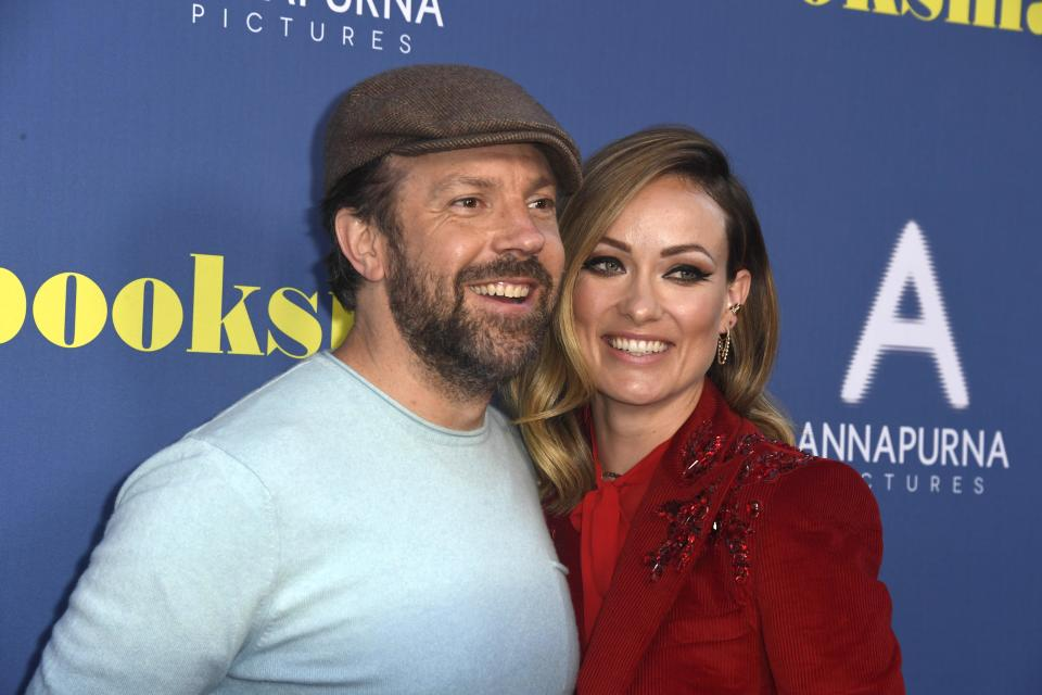 """Jason Sudeikis and Olivia Wilde attend LA Special Screening Of Annapurna Pictures' """"Booksmart"""" at Ace Hotel on May 13."""