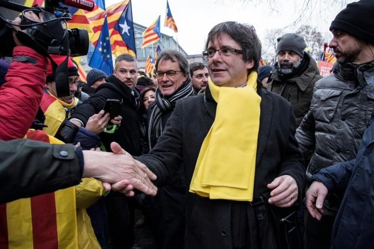 """Catalonia's deposed regional president Carles Puigdemont said that the EU """"does not respect the fundamental values of our beloved Europe"""""""