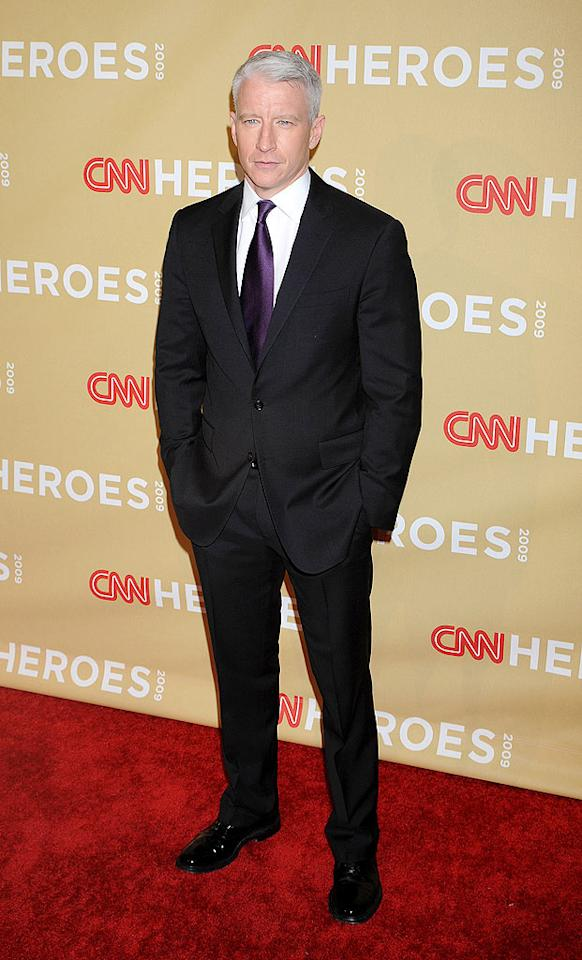 """The always dashing Anderson Cooper hosted the CNN Heroes ceremony at the Kodak Theatre in Hollywood on Saturday. The event, which honors 10 ordinary people who have done extraordinary things, will air on CNN at 9 p.m. ET on Thanksgiving Day. Jeffrey Mayer/<a href=""""http://www.wireimage.com"""" target=""""new"""">WireImage.com</a> - November 21, 2009"""