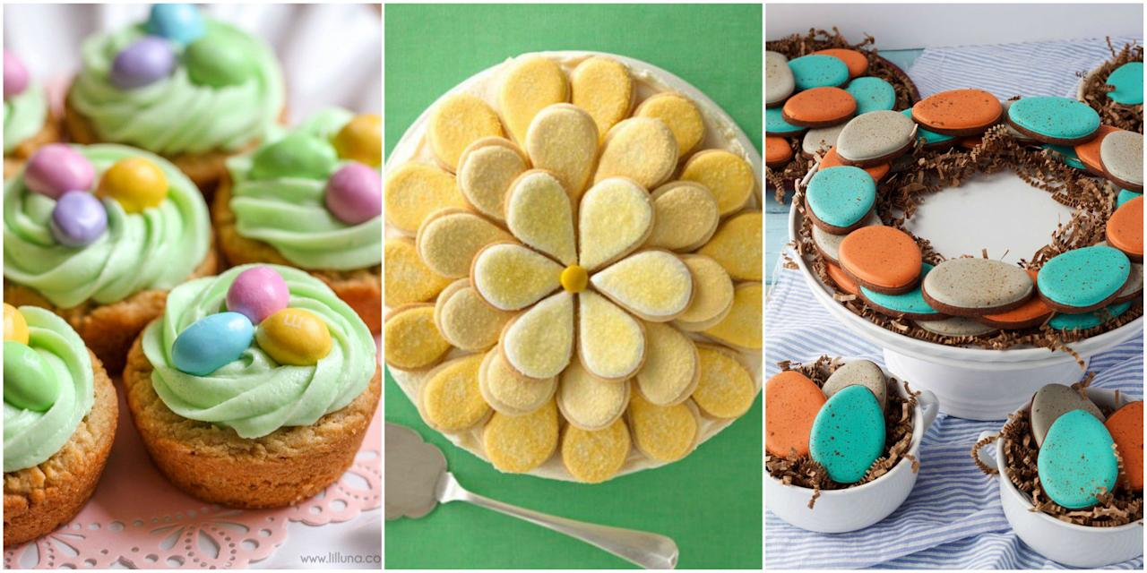"<p>No holiday celebration is complete without a plate of <a href=""http://www.womansday.com/food-recipes/food-drinks/g2047/thumbprint-cookies/"" target=""_blank"">delightful and delicious cookies</a> on the table-and Easter is no exception. We've rounded up the cutest (and easiest!) Easter cookies to make. Looking for more sweet ideas? Don't forget to check out our <a href=""http://www.womansday.com/food-recipes/food-drinks/g2234/easter-desserts/"" target=""_blank"">best Easter dessert recipes</a>, <a href=""http://www.womansday.com/food-recipes/food-drinks/g2202/10-irresistible-easter-cakes/"" target=""_blank"">Easter cake recipes</a>, and <a href=""http://www.womansday.com/food-recipes/g2891/easter-treats/"" target=""_blank"">Easter treats for kids</a>.</p>"