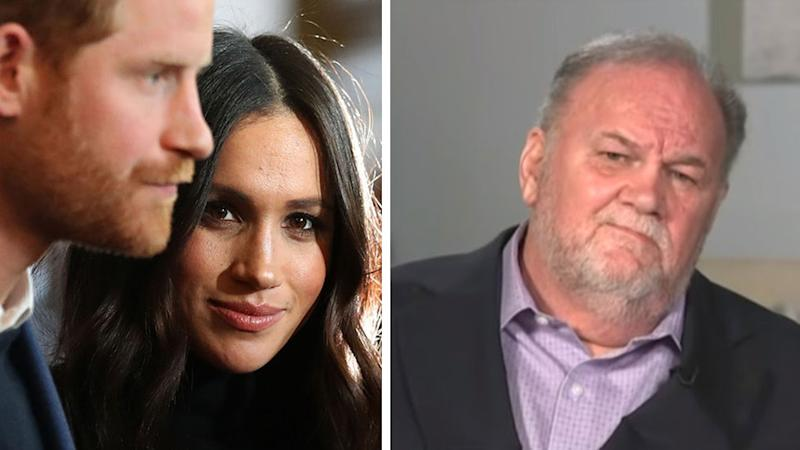 Prince Harry and Meghan Markle, Thomas Markle senior