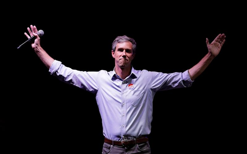 Beto O'Rourke, the Texas Democrat, has dropped out of the race to be his party's nominee - AP