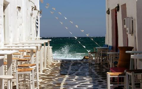 Paros is a popular holiday destination in the Aegean Sea