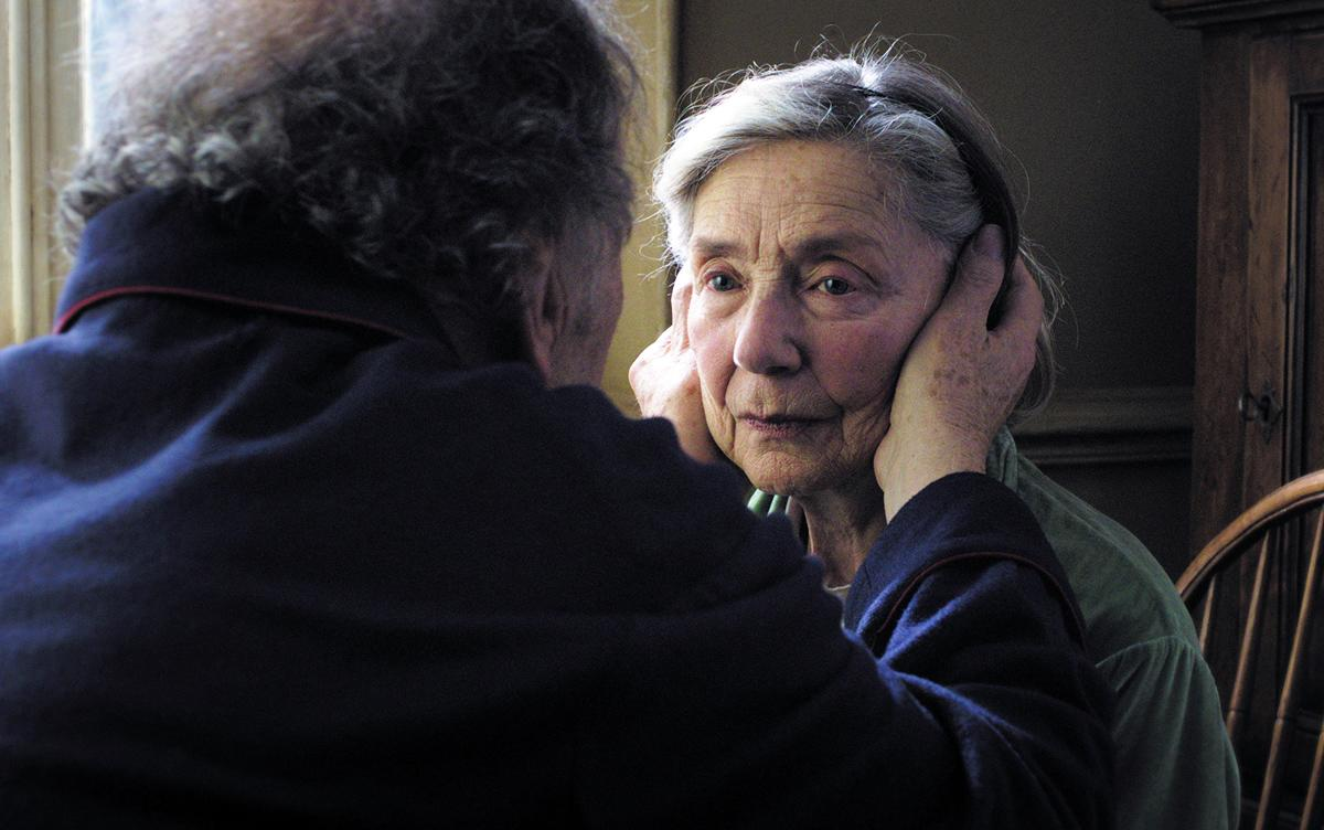 "Best Actress Nominee - Emmanuelle Riva, 85, ""Amour"""