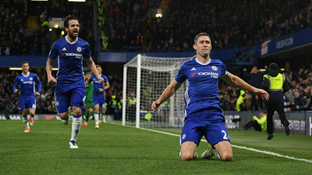 Gary Cahill and Eden Hazard believe that Chelsea have taken a huge stride towards Premier League glory with their 4-2 win over Southampton.