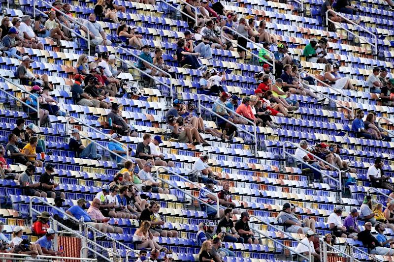 NASCAR brought fans back to Bristol (again) during the pandemic. Blame it or praise it?