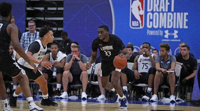 The Front Office takes a look at which players have improved or deteriorated their draft stock after the two days of scrimmages at the NBA draft combine.