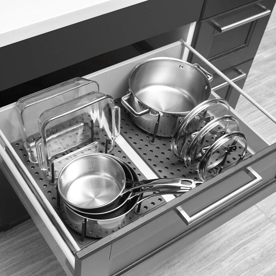 Pantry problems? Purchase a place of perfect peace for your pots and pans.(Photo: Wayfair)