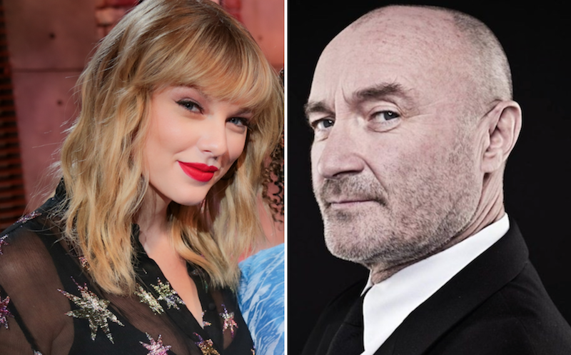 """Taylor Swift covers Phil Collins' """"Can't Stop Loving You"""" on BBC Radio's Live Lounge: Stream"""