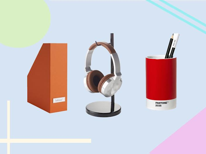 Stay on top of paperwork, to-do lists, meetings and more with these storage and stationery solutions: The Independent