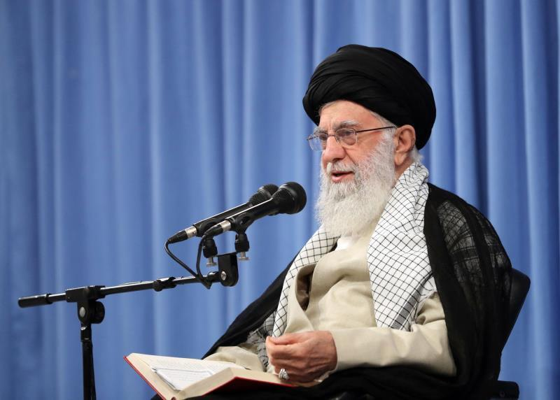 EFE/EPA/IRAN'S SUPREME LEADER OFFICE HANDOUT HANDOUT EDITORIAL USE ONLY/NO SALES