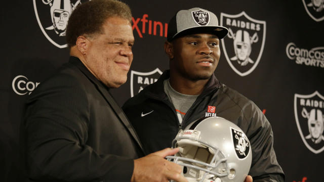 <p>The Raiders GM is clearly surprised by what has transpired. He had long budgeted to retain Mack and quarterback Derek Carr on long-term, expensive contracts.</p>