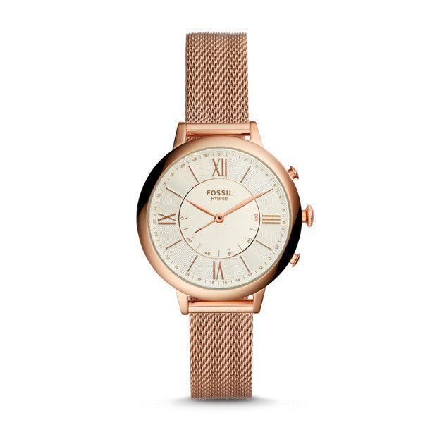 """<p><strong>Fossil Hybrid Smartwatch in Rose Gold-Tone Stainless Steel</strong></p><p>fossil.com</p><p><strong>$175.00</strong></p><p><a href=""""https://go.redirectingat.com?id=74968X1596630&url=https%3A%2F%2Fwww.fossil.com%2Fus%2Fen%2Fproducts%2Fhybrid-smartwatch-jacqueline-rose-gold-tone-stainless-steel-sku-ftw5018p.html&sref=https%3A%2F%2Fwww.harpersbazaar.com%2Ffashion%2Ftrends%2Fg30515430%2Fbest-watch-brands-for-women%2F"""" rel=""""nofollow noopener"""" target=""""_blank"""" data-ylk=""""slk:Shop Now"""" class=""""link rapid-noclick-resp"""">Shop Now</a></p><p>With designs rooted in Americana, particularly vintage print advertisements, Fossil has distinguished itself from other watch brands that toot their European origins. It should come as no surprise, then, that the label was founded in 1984 by a Texas family. </p><p>Five years later, Fossil launched two women's lines, Elegant Manhattan and Providence, which leaned toward the ornamental and geometric qualities typified by the Art Deco style of the 1920s and '30s.<br></p>"""
