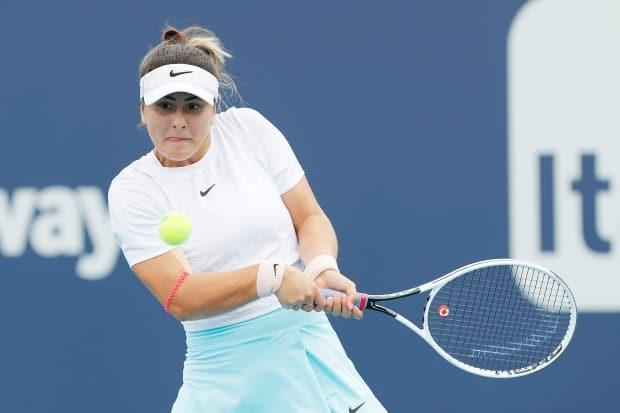 Canadian tennis star Bianca Andreescu announced on Twitter that she has tested positive for COVID-19 and withdrawn from the upcoming Madrid Open. (Getty Images - image credit)