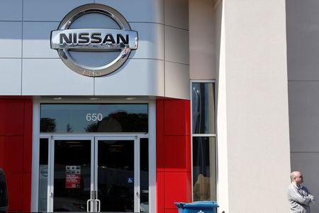 A man seen at outside Nissan Serramonte in Colma, California