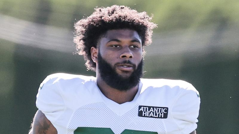 Jets RB La'Mical Perine