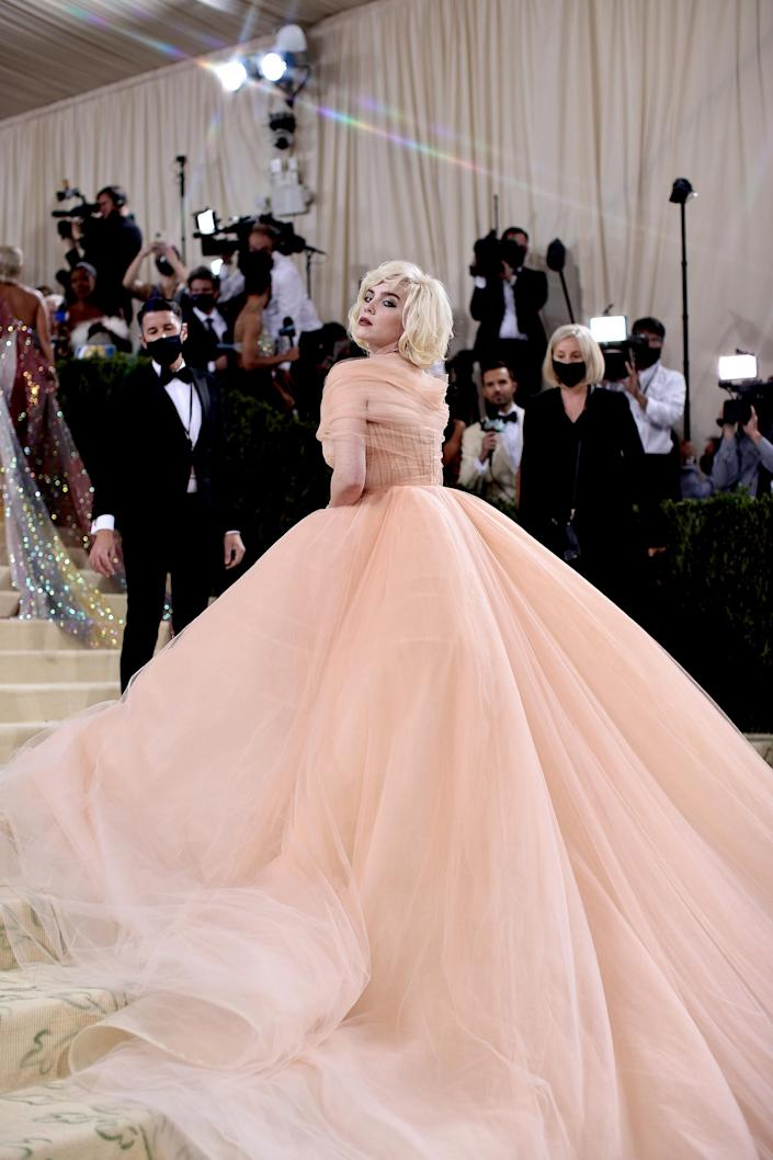 The 2021 Met Gala Celebrating In America: A Lexicon Of Fashion - Arrivals (Dimitrios Kambouris / Getty Images for The Met Museum/Vogue)