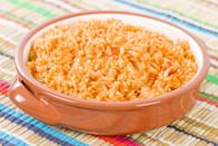 """<p>A cross between soup and rice, sopa de arroz makes a convincing case for cooking rice in supposedly soup broth. In the recipe, replace long grain rice with fideo (vermicelli pasta) to turn your sopa de arroz to sopa de fideo. </p> <p><strong><a href=""""https://www.thedailymeal.com/best-recipes/sopa-de-arroz?referrer=yahoo&category=beauty_food&include_utm=1&utm_medium=referral&utm_source=yahoo&utm_campaign=feed"""" rel=""""nofollow noopener"""" target=""""_blank"""" data-ylk=""""slk:For the Sopa de Arroz recipe, click here."""" class=""""link rapid-noclick-resp"""">For the Sopa de Arroz recipe, click here.</a></strong></p>"""