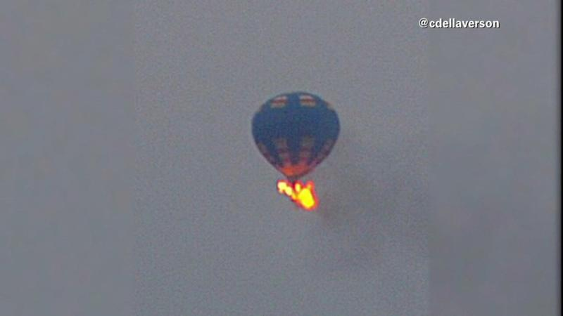 HOT-AIR BALLOON CRASH