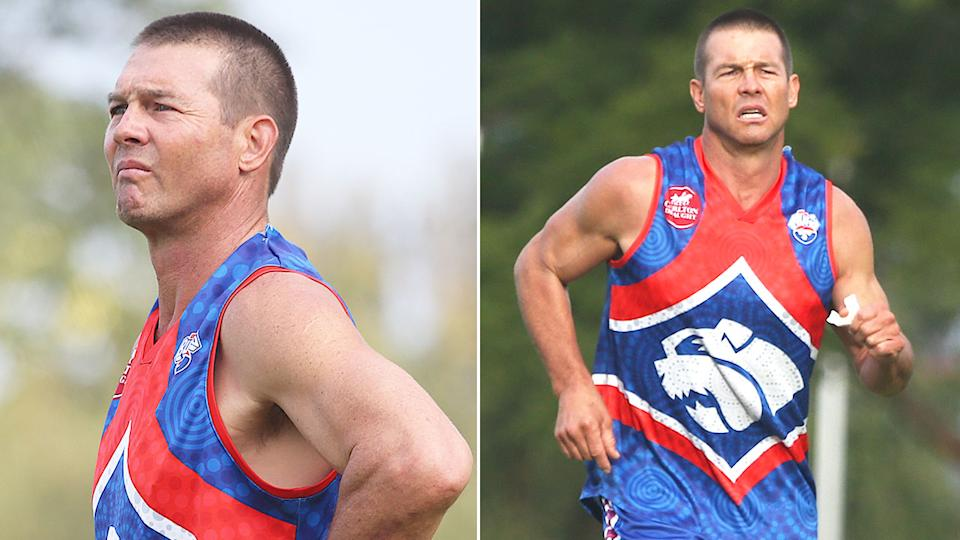Ben Cousins hadn't played a competitive footy match since retiring from the AFL in 2010. Pic: Getty