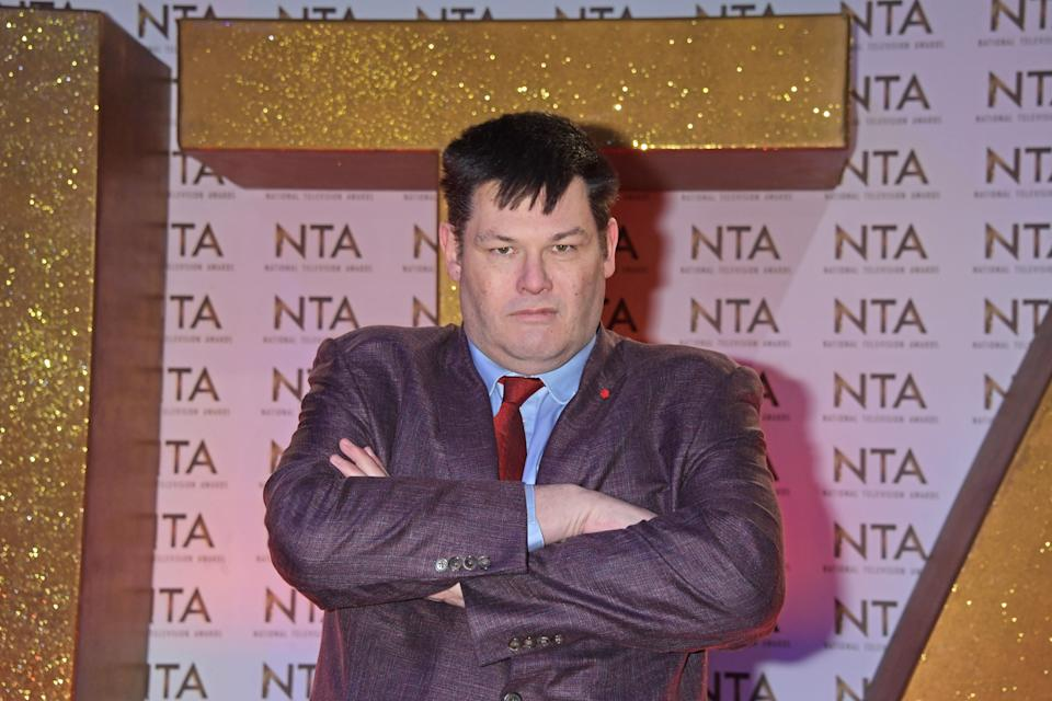 Mark Labbett attends the National Television Awards on January 28, 2020. (Photo by David M. Benett/Getty Images)